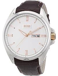 Hugo Boss Herren-Armbanduhr Analog Quarz Leder 1512876