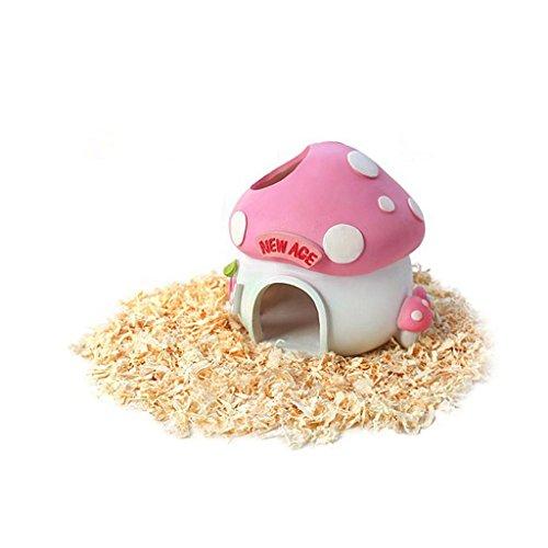 Hamster Maison de Résine Petit Animal Gerbille Nid Chambre de Repos Ornement - Champion