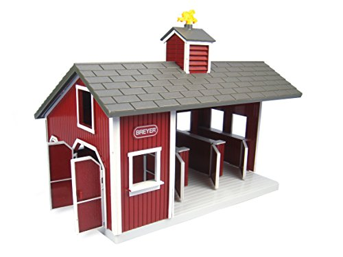 breyer-132-stablemates-8-piece-red-stable-model-set
