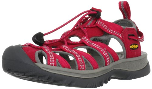 Keen WHISPER W 1008449, Sandali donna, Barberry/Neutral Gray, 37.5