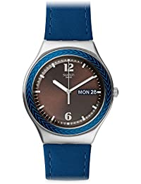 Swatch Analogue Brown Dial Men's Watch - YGS774