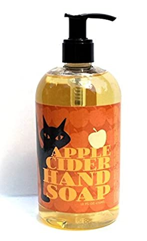 Greenwich Bay Apple Cider Shea Butter Hand Soap Enriched with Apple Blossom Oil 16 oz by Greenwich Bay Trading Company