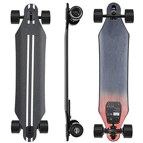 Superdünnes Elektrisches Skateboard Mit Fernbedienung, 24 MPH