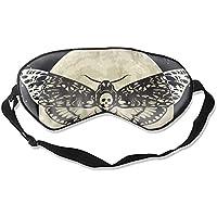 Death Head Augenschutz für Reisen, Nickerchen und Meditation, Hawkmoth On The Full Moon and Night Sky preisvergleich bei billige-tabletten.eu