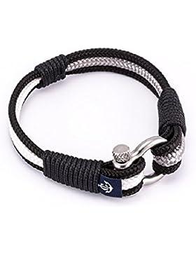 Maritimes Armband CNB #3076 Modeschmuck Damen Herren Unisex Maritim Segeltau