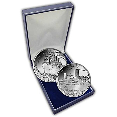 The 2012 Centenary of RMS Titanic Proof Silver Two Coin Set -