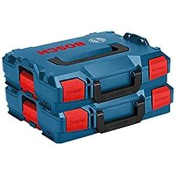 Bosch L-Boxx Lot de 2 boîtes L-Boxx taille Modèle 1/102 - Modèle innovant L-BOXX