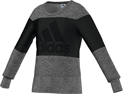 Adidas Ward Robe Style da allenamento, da bambino, Unisex bambino, nero/grigio, 128