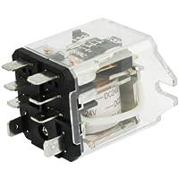 sourcingmap® JQX-30F-2Z Tensione Bobina DC 24V 8 Pin DPDT Elettromagnetici relè