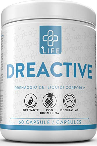 +life dreactive ● 60 capsule ● potente drenante dimagrante naturale ● depurativo, ritenzione idrica, anti cellulite, diuretico