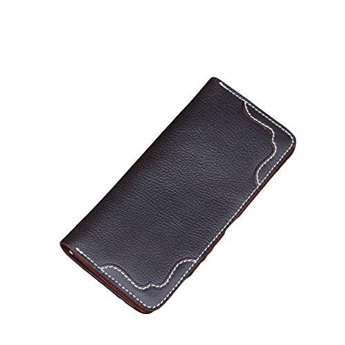 Hand Geldbörse Geldbörse Geldbörse Geldbörse Lange Geldbörse Gutscheine Retro-Freizeit Multi-Karten-Bit Clear