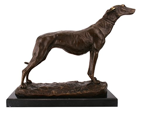 greyhound-sculture-in-bronzo-su-base-in-marmo