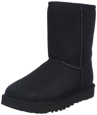 UGG Women's Classic Short II Short Boots, Black (Black), 5.5 UK (7 US) (38 EU)