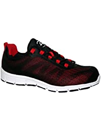 Groundwork Puntale in Acciaio Saftey Ultra Light Weight Lace Work Trainer Scarpe