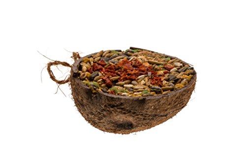 Lucas The Wombat For His Friends: Snacks in Kokosnusschale - Gemüse 3 x 200 ml - Sparset. Leckereien für alle Nager und Kanninchen.