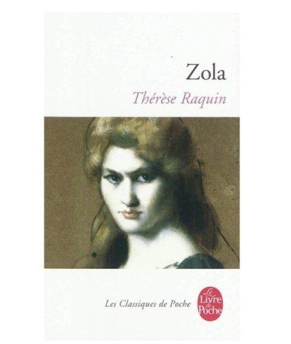 Therese Raquin (Le Livre de Poche) par Emile Zola
