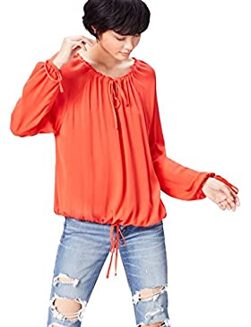 [Patrocinado]FIND Blusa Fruncida Estilo Boho Para Mujer