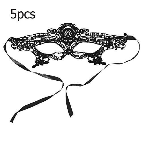 loween Maske Frauen Dress Up Kostüm Spitze Augenklappe Tanzmaske Für Prop Show Decor Party Supplies(1#) ()