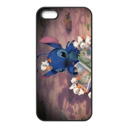 customize-cute-cartoon-lilo-and-stitch-iphone-55s-case-cover-black-best-protective-hard-plastic-cove