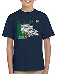 POD66 Haynes Owners Workshop Manual 0313 Toyota Landcruiser KidS T-Shirt