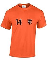 Holland No 14 World Cup T-Shirt