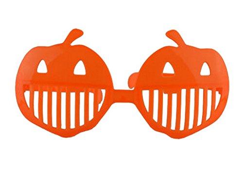 sign Weihnachten/Halloween Dekor Brille Geburtstagsparty Brille Kürbis (Halloween Kürbisse Spiel Online)