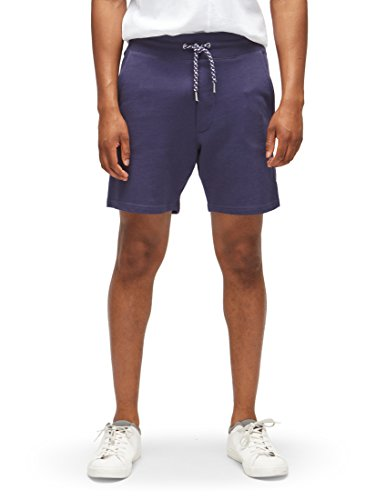 TOM TAILOR Denim Männer Hosen & Chino Jogging Bermuda Shorts, Atlantic Ocean Blue, Gr. Large Denim Chinos