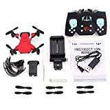 808 Mini Pocket Faltbare FPV RC Quadrocopter-Drohne mit 720P HD Verstellbarer WLAN-Kamera Echtzeit-Höhenstand-Headless-Modus