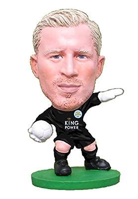 SoccerStarz SOC1078 Classic Leicester Kasper Schmeichel Home Kit