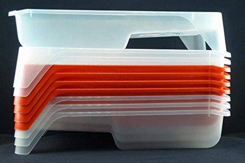 10 Stück Profi Lackwannen 15 x 28 x 5,5 cm Farbwannen Lack Farbwanne Kunststoffwanne Lackierwanne Lackschale