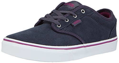 Vans Z ATWOOD SUEDE, Sneakers Basses fille Bleu ((suede) Ombr
