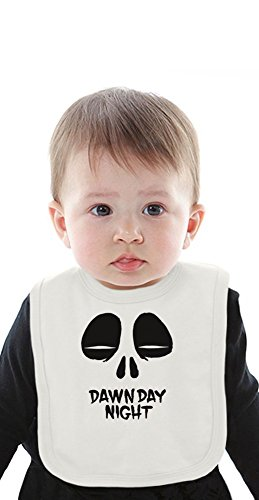 Dawn Day Night Organic Baby Bib With Ties Medium