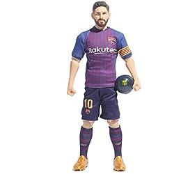 Sockers Figura de acción de FCB de Messi 2018/19, Color azulgrana, 30 cm (BanboToys 2)