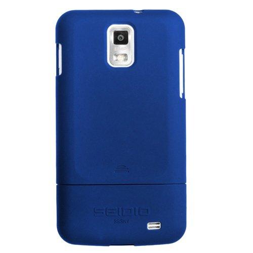Seidio csr3sssky-rb Oberfläche Schutzhülle für Samsung Skyrocket-1Pack-Retail Verpackung-Royal Blau -