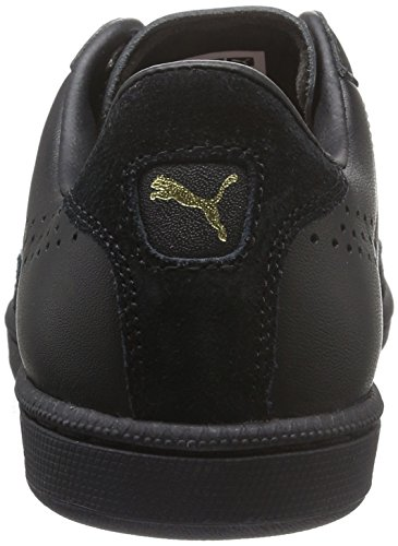 Puma Match 74 UPC, Sneakers Basses Mixte Adulte Noir (Puma Black-puma Black-puma Black 13)