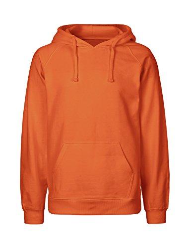 Green Cat Kapuzensweatshirt, 100% Bio-Baumwolle. Fairtrade, Oeko-Tex und Ecolabel zertifiziert Orange