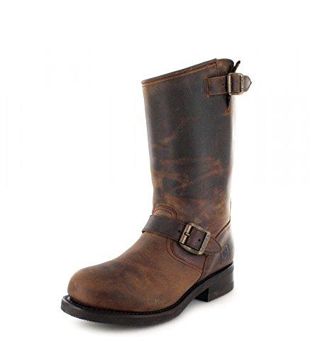 Sendra Boots 9852 Tang Engineerstiefel mit Stahlkappe und Thinsulate Isolierung für Damen und Herren Braun, Groesse:41 -
