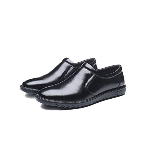 LYZGF Scarpe Comode Da Uomo Casual Primavera E Autunno Business Casual Black