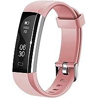 Fitness Armband Lintelek NEU fitness tracker Sport Uhr Smart Bracelet Notifications Anrufe SMS Nachrichten Reminder Smartwatch Schrittzähler Schlaftracker Aktivitätstracker für Android und iOS