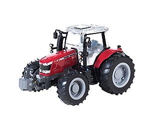 TOMY - 43078a1 - Vehículo Ready - Modelo para la Escala - Tractor Massey Ferguson 6613 - Escala 1.16