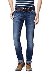 Allen Solly Men Ultra Slim Fit Pants_ALDN515J05690_36_Blue
