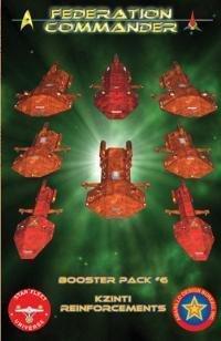 Föderation Commander Booster Pack sechs