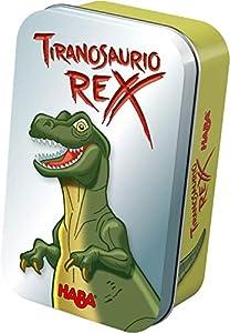 HABA- Juego de Mesa, Tiranosaurio Rex, Multicolor (Habermass H304620)