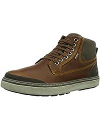 Geox U MATTIAS B ABX - Botas de cuero para hombre, color marrón, talla 44