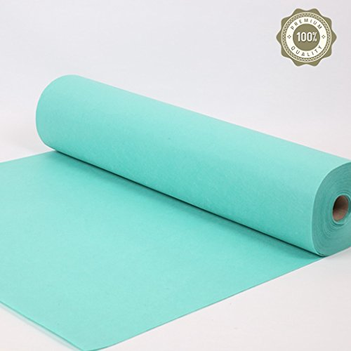 WSGZH Long Carpet Einweg-Läufer Light Blue Runner Stage Ausstellung Teppiche Hochzeit Runner Fashion Show T Bühne Teppich Treppen Voll Teppich (Color : Light Green, Size : 1 * 20M) -