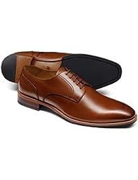 Tan Derby Shoe by Charles Tyrwhitt