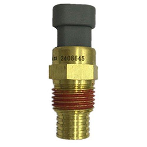 Ebilun Wasser Temperatur Drucksensor Motor Temp Kühlmittel Messgerät Messgerät Sensor Tap 9-36V Gold