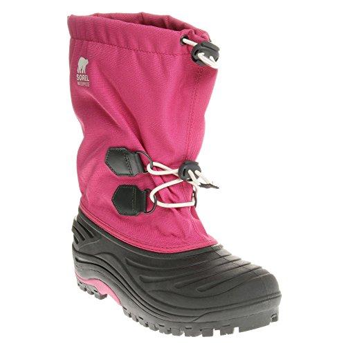 Sorel Super Trooper, Bottes de neige mixte bébé - rosa - schwarz