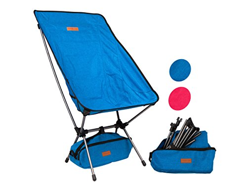 outdoor camping chair. Trekology Portable High Back Camping Chairs Outdoor Chair