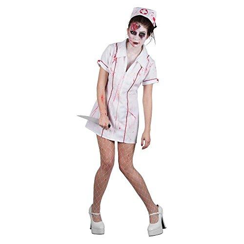 Krankenschwester Wicked Kostüm - Zombie Krankenschwester Horror Verkleidung Frauen Halloween
